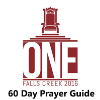 Falls Creek 2016 60 Day Prayer Guide